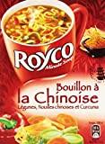 Royco Soupe Déshydratée Bouillon à La Chinoise Déshydratée 3 Sachets de 20 cl - 45 g - Lot de 6