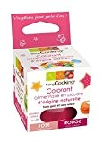 SCRAPCOOKING - Colorant alimentaire naturel rouge