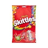 Skittles Bonbons aux Fruits 208 g - Lot de 6
