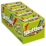 Skittles Crazy Sours, Bonbons Fruités à Mâcher, 16 Paquets de 45 gr