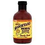 Stockyard Américain Kansas City Barbecue Doux Fumé Sauce 638G - Paquet de 6
