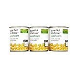 Sweetcorn Croquante Sweet & Waitrose Essentielle 3 X 195G - Paquet de 6
