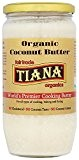 Tiana Organic and Fairtrade Pure Coconut Butter 750 ml