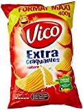 Vico Chips extra craquantes nature ondulées 400 g - Lot de 5