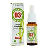 Vitamine D3++ huile végétale 20ml D.Plantes