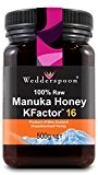 Wedderspoon 100% RAW Manuka Honey Active 16+ 500g