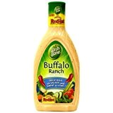 Wish-Bone, Salad Dressing, Buffalo Ranch, 16oz Bottle (Pack of 3) by Wish-Bone